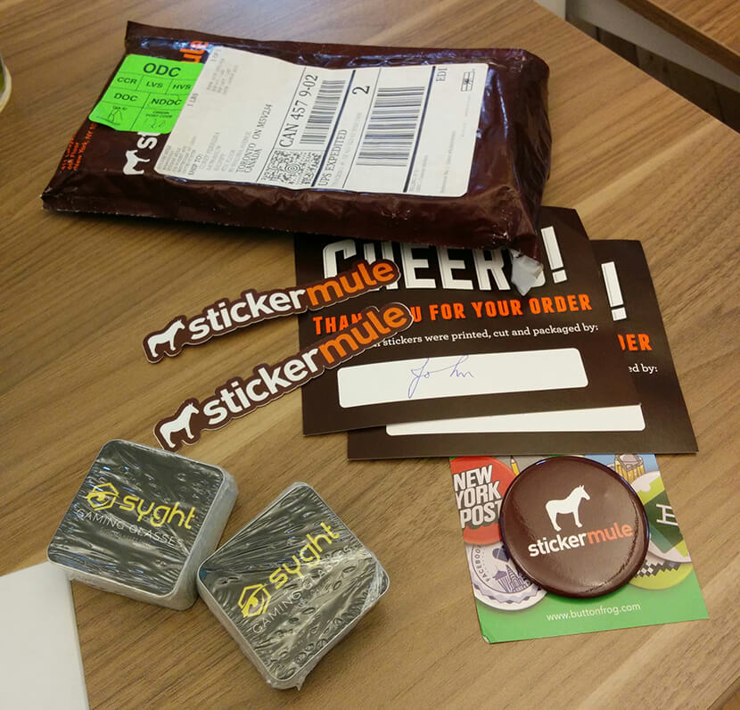 Стикеры StickerMule прибывают