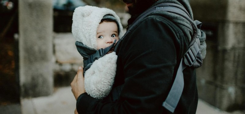 Image showing a baby carrier product example which is a trending product to sell in 2020