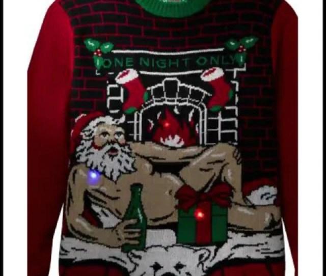 Romantic Santa Christmas Sweater