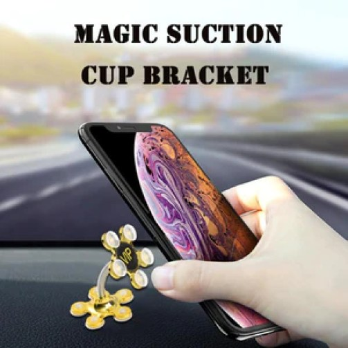 Magic Double-Sided Sucker Phone Holder