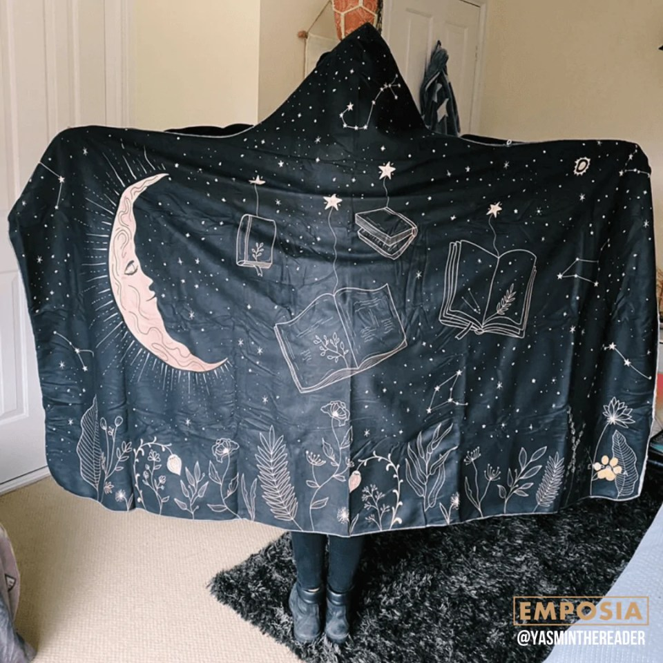dreamer bookish hooded blanket emposia stars 1200x - Tis The Holiday Season! Unique Bookish Gift Ideas For Christmas & Holiday Celebrations