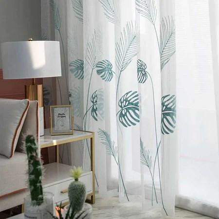 rideau tropical decoration tropicale