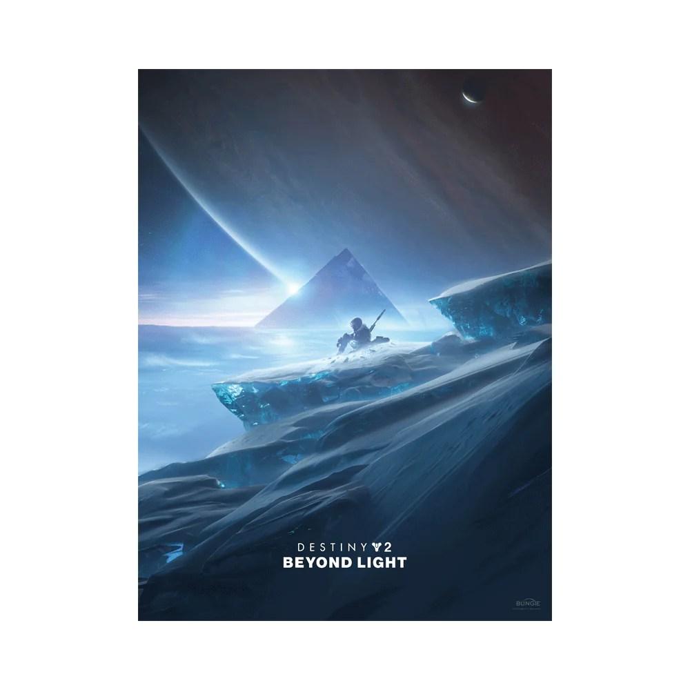 destiny 2 beyond light key art poster