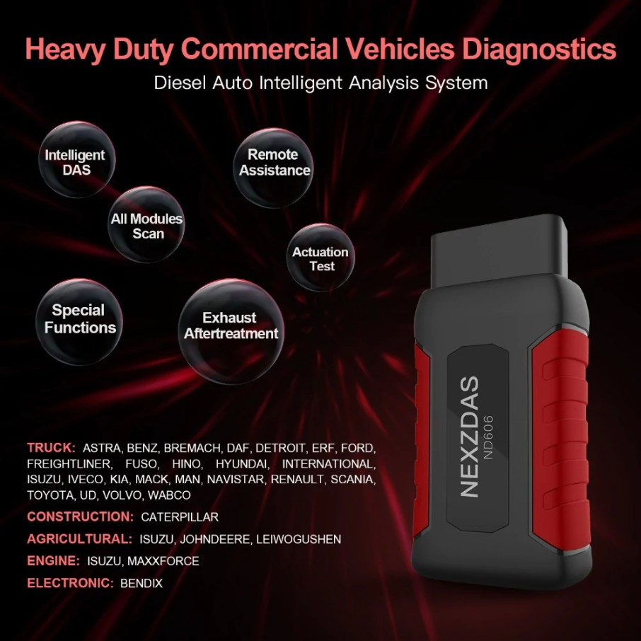 All Modules Scan for Commercial Vehicles