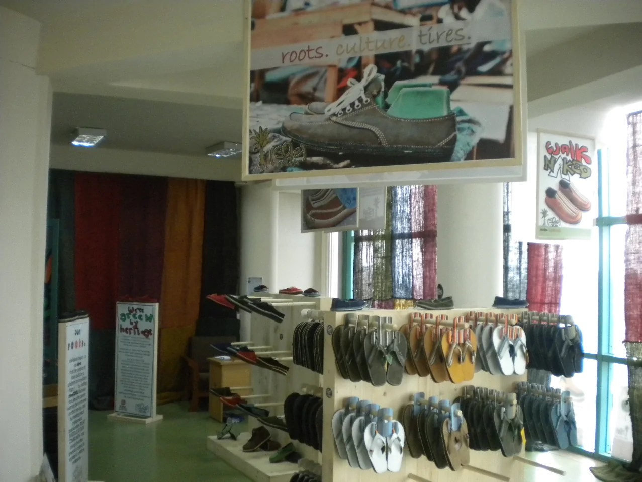 soleRebels retail store in Ethiopia