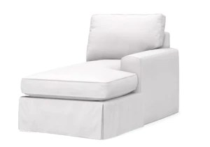 slipcovered coastal style chaise