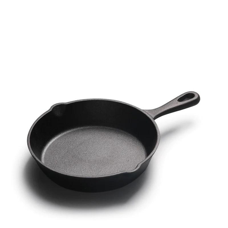 14/16/20cm Cast Iron Non Stick Frying Pan Cooking Pot Mini Cast Iron Skillet Pots and Pans