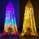 Led Curtain Lights Hanging Fairy Lights For Bedroom Indoor String Ligh Dukakeen Com