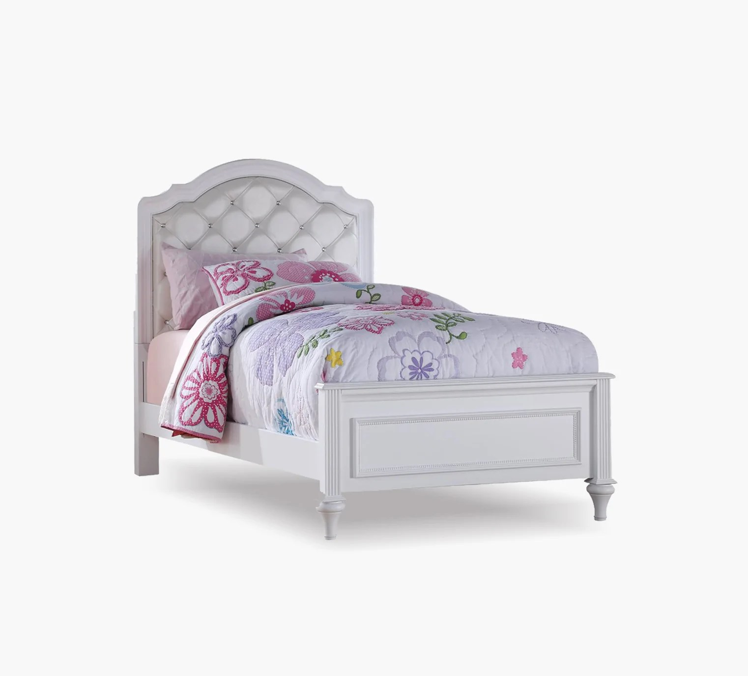 Chantilly Twin Upholstered Bed Kane S Furniture