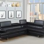 Giovanni Black 2 Piece Sectional Sofa Kane S Furniture