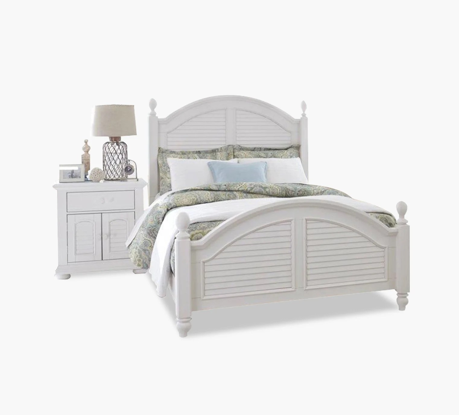 Summer House Queen Poster Bed Kane S Furniture