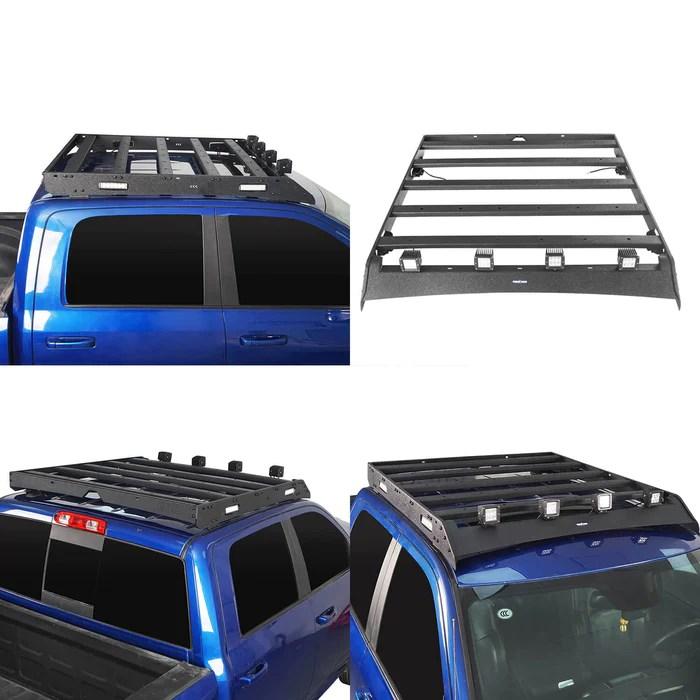 roof rack luggage cargo carrier bed rack cargo rack roll bar 09 18 dodge ram 1500