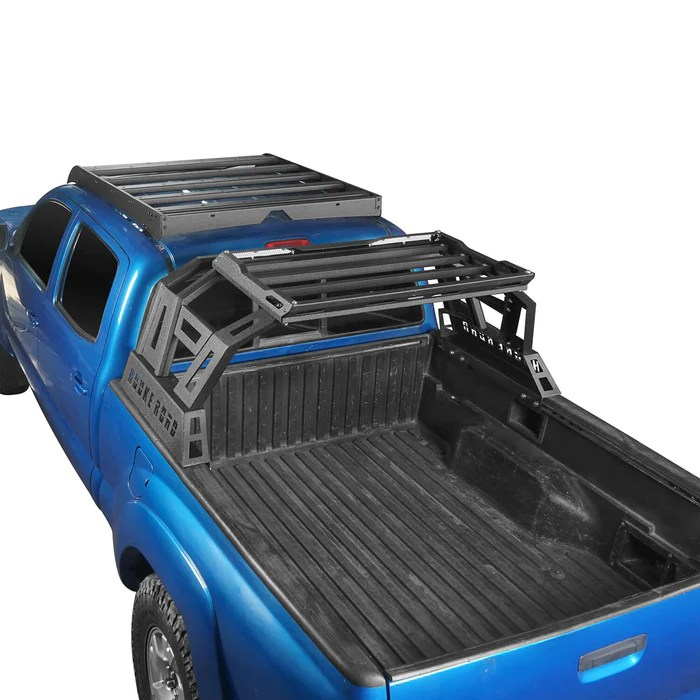 top roof rack luggage cargo carrier bed rack 05 21 toyota tacoma 4 doors