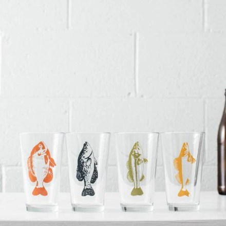 Pint glasses from Cosa Boutique