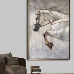 Horse Art Horse Abstract Painting Horse Portrait Painting On Canvas Large Horse Wall Art Equestrian Art Artexplore