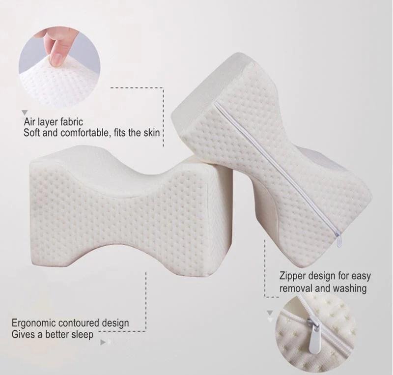 high quality memory foam hip alignment leg knee pillow techie gadget shop