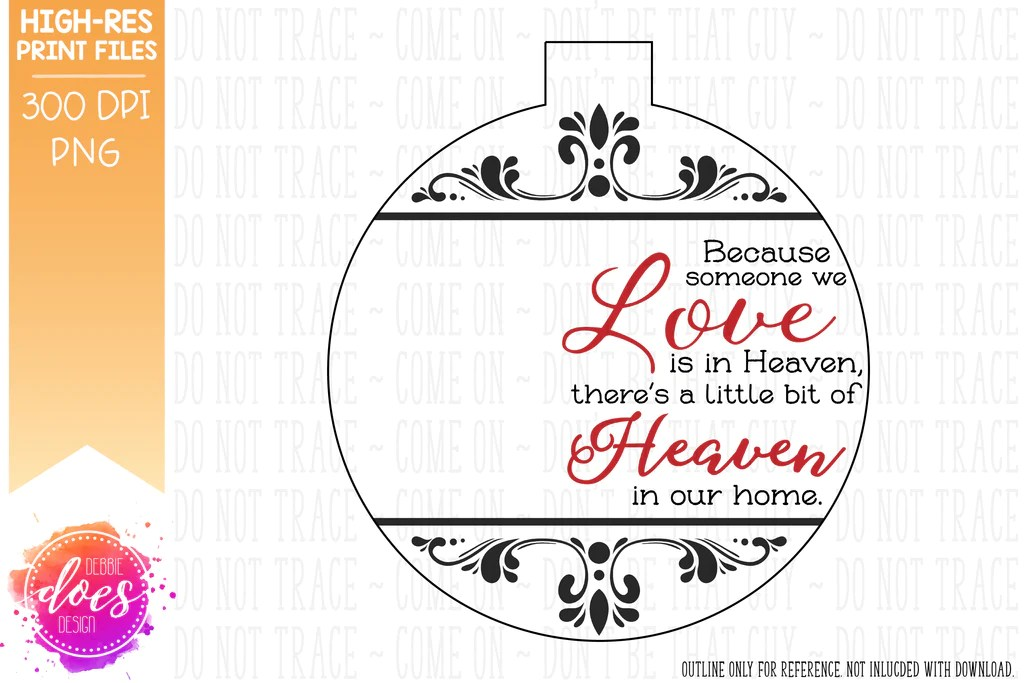 Download Because Someone We Love is in Heaven w/Photo Design ...