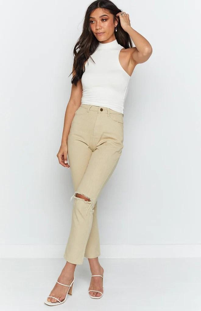 Della Jeans Beige 6