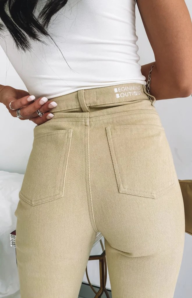 Della Jeans Beige 5