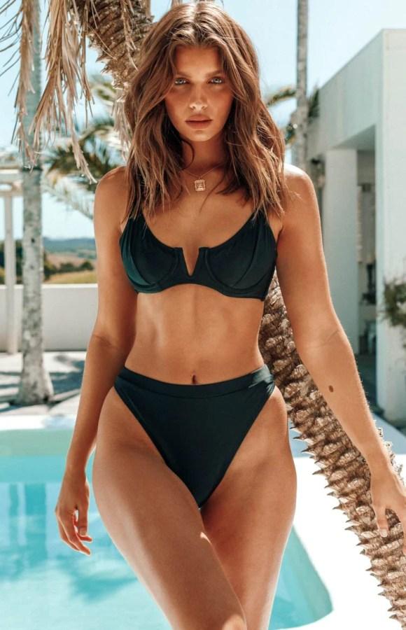 9.0 Swim Lynx Bikini Bottoms Black