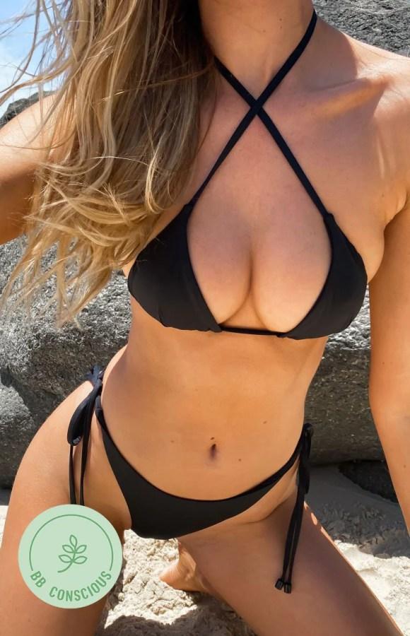 9.0 Swim Retreat Bikini Top Black
