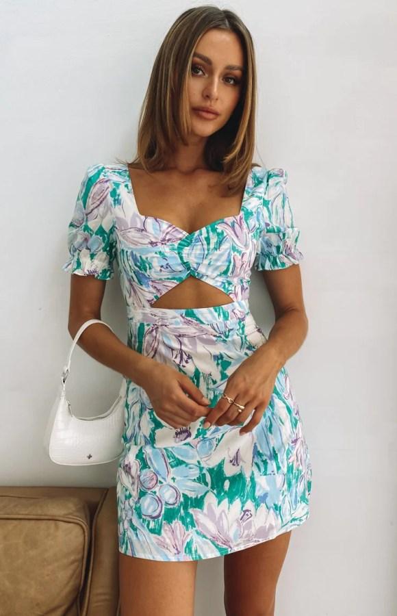 The Mercury Mini Dress Floral