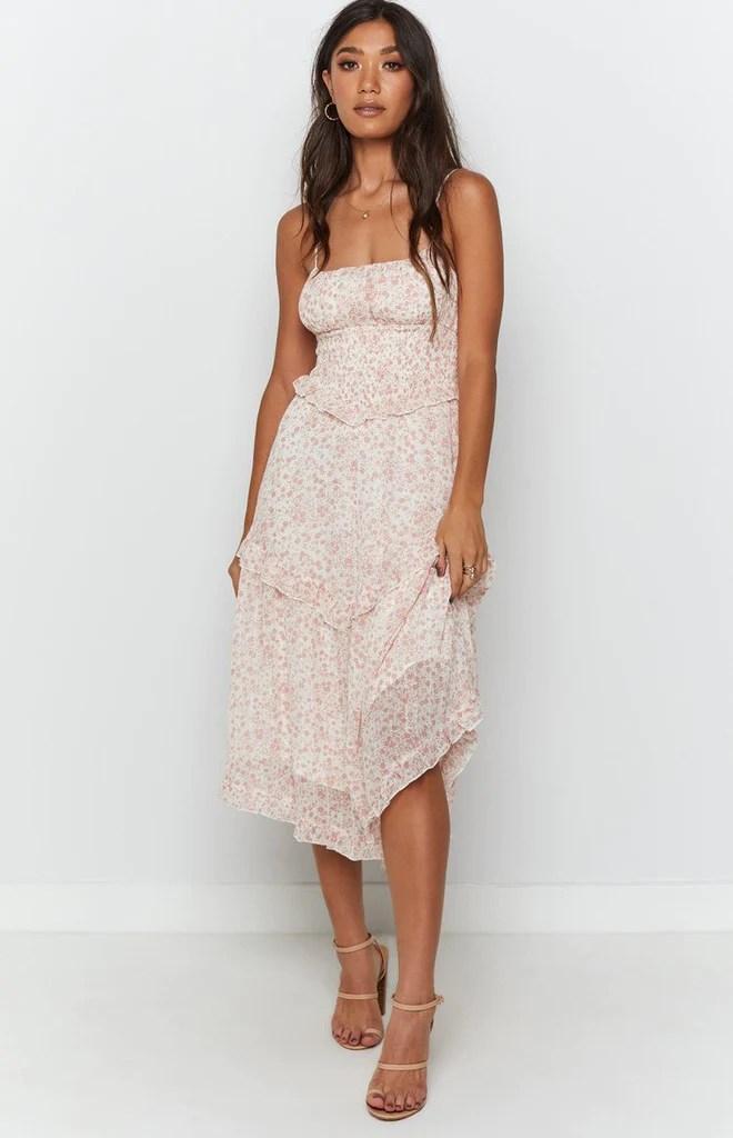 Vacay Midi Dress Floral 5