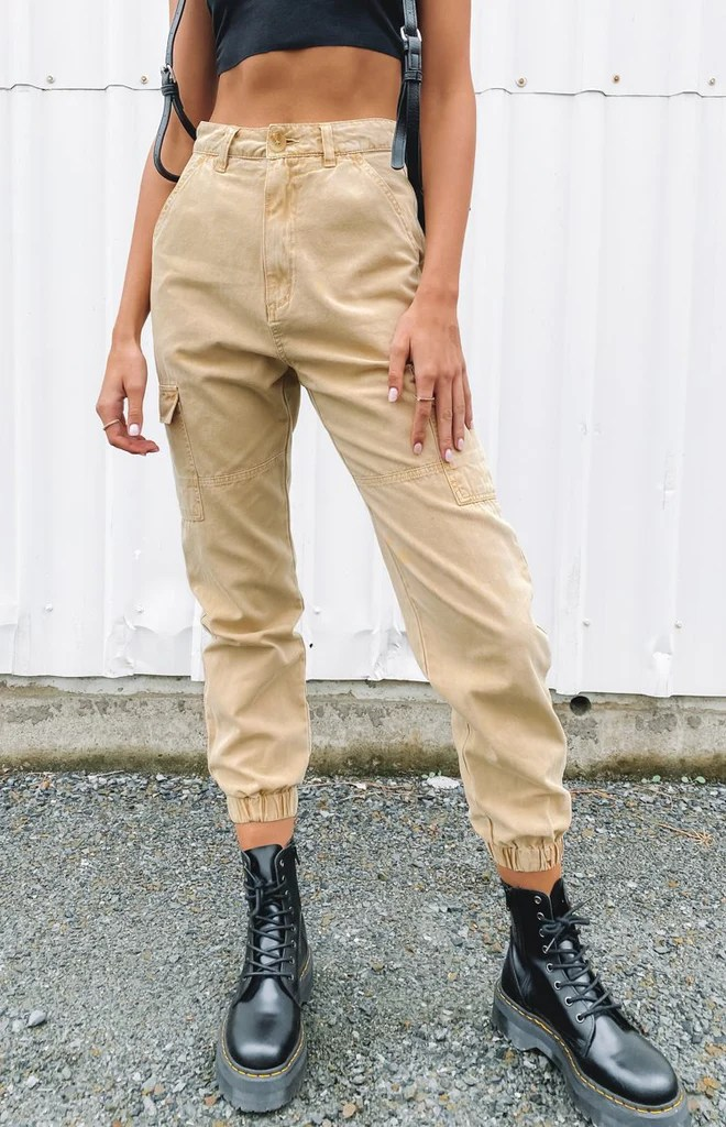 Beyond Her Sian Cargo Pants 8