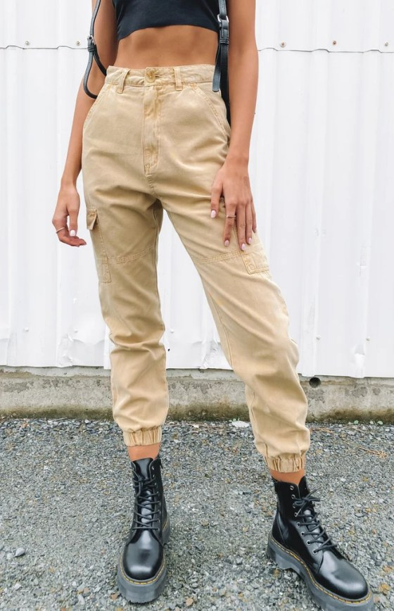 Beyond Her Sian Cargo Pants 22