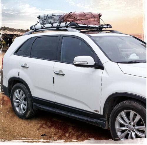 140 100 silver single aluminium alloy car suv 4x4 roof rack basket cargo luggage carrier box bar