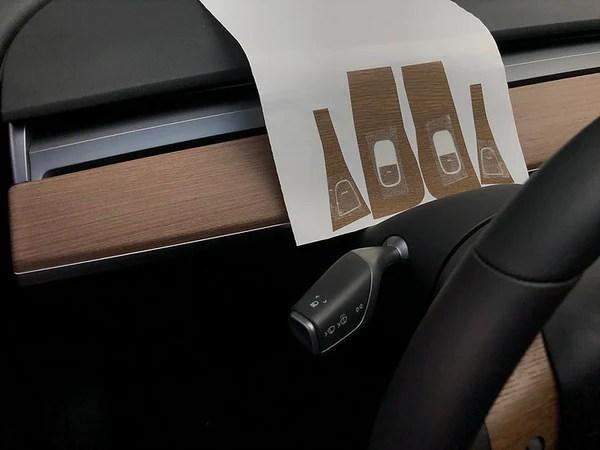Model 3 Vinyl Wood Console Wrap Gen 2 69 W 20 Off