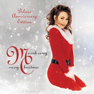 Image result for mariah carey merry christmas deluxe anniversary edition""
