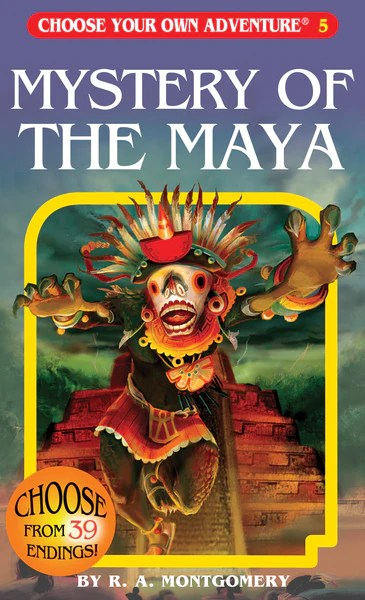 Mystery Of The Maya Chooseco LLC