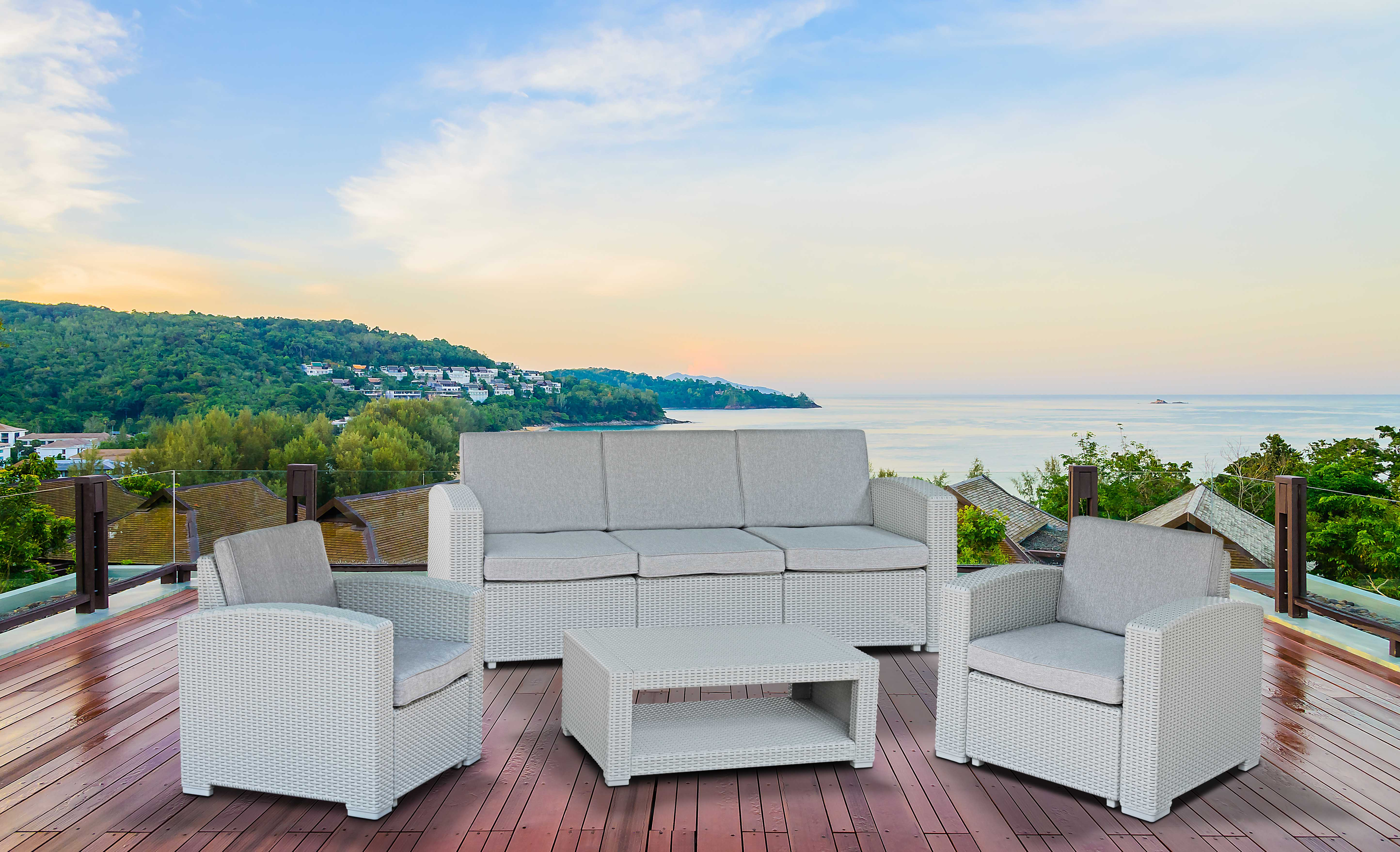 Other Furniture - Fine Living - Santorini Patio set (Free ... on Fine Living Patio Set id=29178