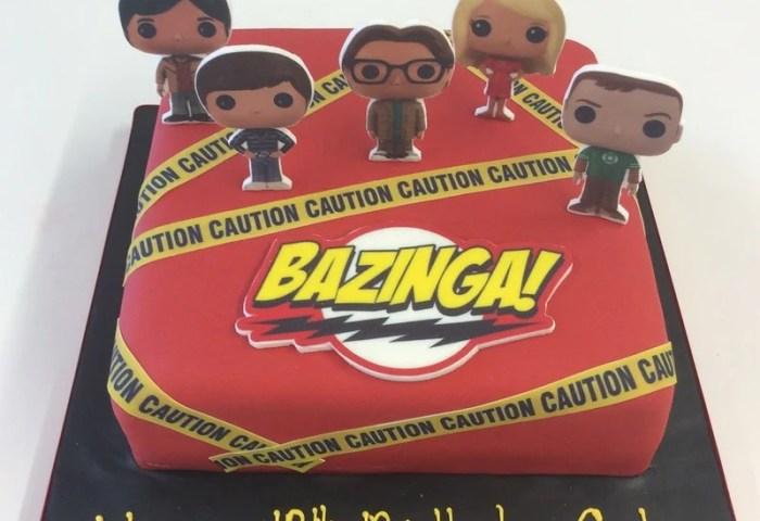 Big Bang Theory Theme Cake Icing World