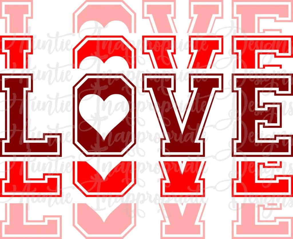 Download Love mirror Valentine Digital SVG File - Auntie ...