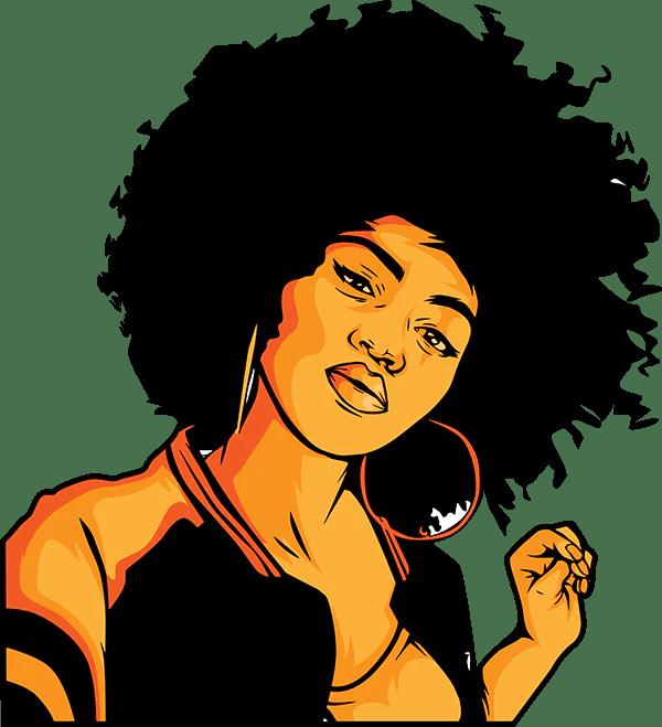 Download Afro Woman - DesignsByAymara