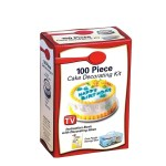 100 Piece Cake Decorating Kit Easily Create Beautiful Decorated Cakes And Cookies Like A Pastry Chef