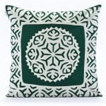 Forest Green Pillow Cover Rallitribe