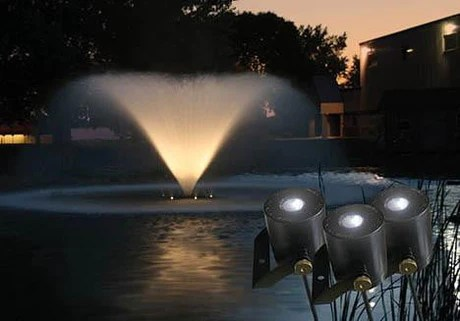 kasco 3 led light fountain lighting kit light kit only