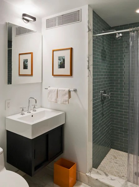 5 steps to make your small shower look