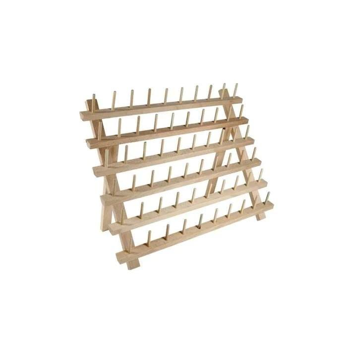 wooden braiding hair rack