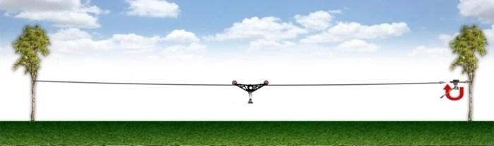 24v flysky motor cablecam