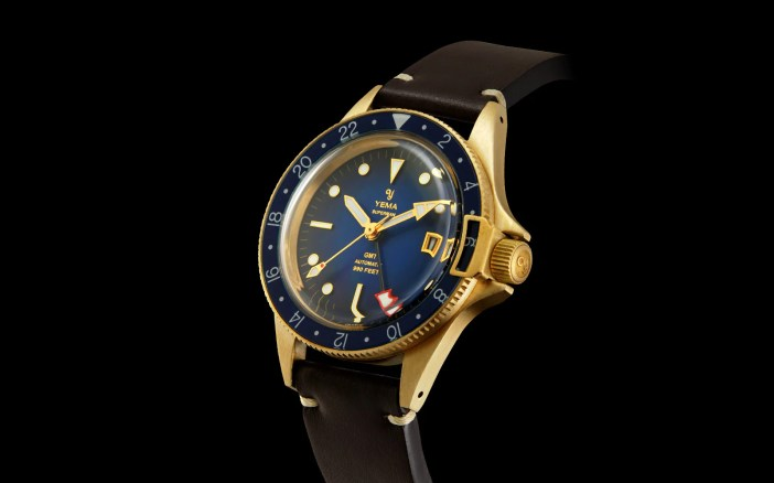 YEMA Superman GMT Bronze Blue