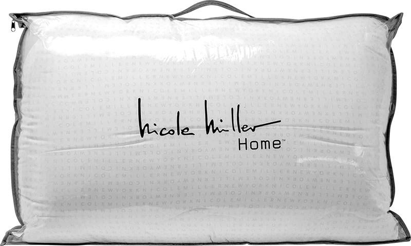 nicole miller luxury down around pillow queen 2 pack
