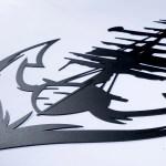 Anchor Metal Wall Art Nautical Metal Wall Decor Poster