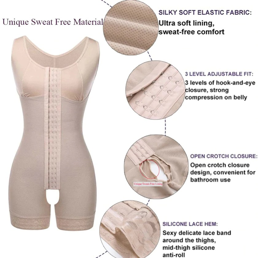 FeelinGirl Waist Trimmer Full Body Shaper Buttock Lifter
