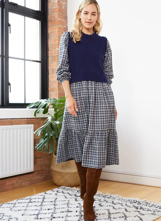 Portia Eco Cashmere Knitted Vest