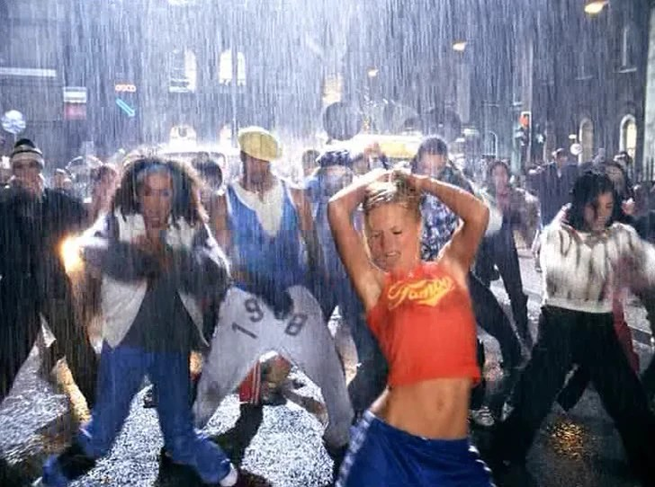 geri halliwell its raining men