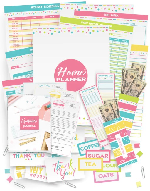 Planner Printables You Need In Your Life For A More Organized Week, daily planner printable PDF